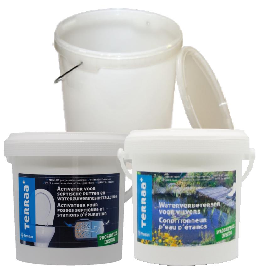 EProbiotiques pour fosses septiques, milieux aquatiques et pour industries